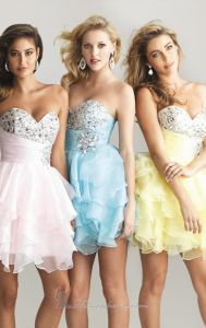 Mini Prom Party Dress Vestidos Crystal Cocktail Evening Dress Y20165 pictures & photos