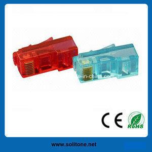 8p8c Network Cable Cat5e RJ45 UTP Modular Plugs pictures & photos
