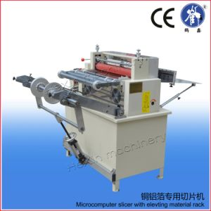 with Rack Roll to Sheet Aluminum Copper Foil Cutting Machine pictures & photos