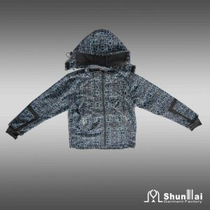 Children′s Soft Shell Jacket with Hood