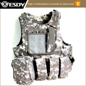 Assault Combat Soft Gear Paintball Tactical Vest for Military pictures & photos