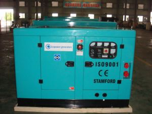 15kVA Super Silent Diesel Generator Set with Cummins Engine