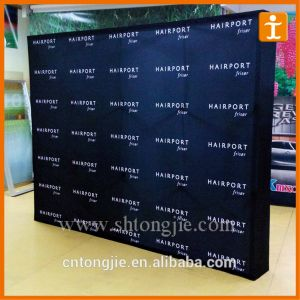 Exhibition Trade Show Fabric Popup Display Stand (tj-09) pictures & photos