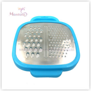 Multi-Function Stainless Steel Vegetable/Fruit Grater with Container pictures & photos