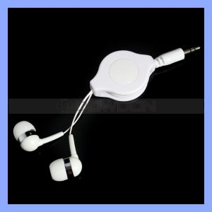 3.5mm Stereo Earphone Retractable Headphone Logo Custom Available pictures & photos