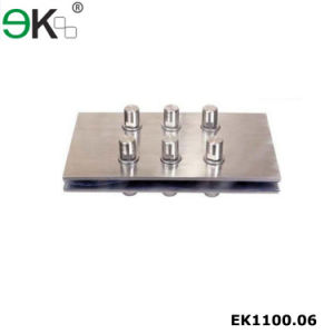 Spider Support Splice Plate for Glass Fin Panels pictures & photos