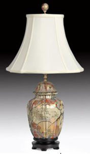 Chinese Antique Furniture - Porcelain Desk Lamp pictures & photos