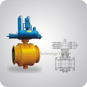 Cast Steel Trunnion Ball Valve China Supplier pictures & photos