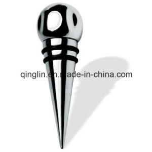 Customized Stainless Steel Wine Stopper (QL-HJS-0001) pictures & photos