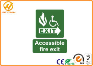 High Intensity Reflective Accessible Photoluminescent Emergency Exit Signs pictures & photos