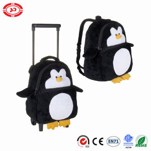 Baby Travel Trolley Bag Plush Penguin Toy pictures & photos
