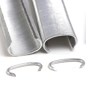 (516G100B) Galvanized Hog Rings / C-Ring pictures & photos