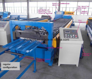 Metal Corrugated Roof and Wall Sheet Roll Forming Machine Line/ Machinery pictures & photos