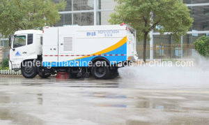 Water Cannon Road Cleaning Truck pictures & photos