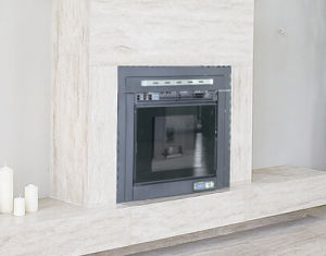 Insert Type Indoor Using Pellet Stove with Remote Control pictures & photos