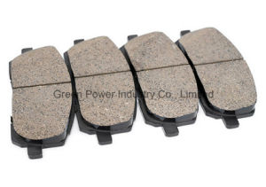 Gg Grade High Quality Disc Brake Pad for Europe Cars pictures & photos