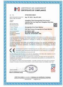 Yogurt 7000L/H Customized Dairy Homogenizer (GJB7000-25) pictures & photos