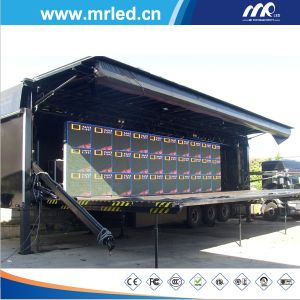 P12mm Mobile LED Display/Outdoor Moving LED Advertising Display Screen pictures & photos