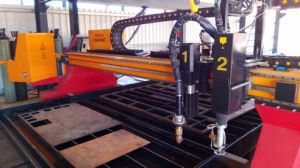 High Definition True Hole CNC Plasma Cutter Table pictures & photos