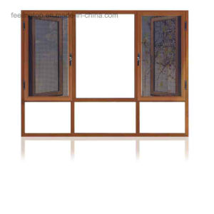 Thermal Break Aluminum Casement Windows with Fixed Glass (FT-W108) pictures & photos