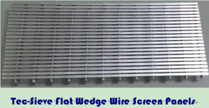 Tec-Sieve Flat Wedge Wire Screen Panels pictures & photos
