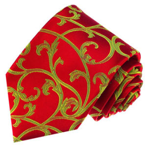 New Fashion Wine Colour Design Woven Silk Neckties pictures & photos