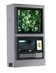 Mobile Phone Charger Kiosk; LCD Screen to Display Advertisements pictures & photos