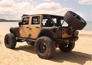 Lantsun Steel Fender Flare Armor for Jeep Wrangler Jk pictures & photos