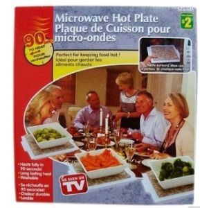 Microwaveble Hot Plate for Keeping Food Warm Longer pictures & photos