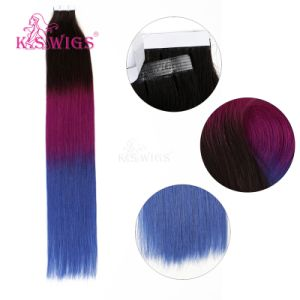 K. S Wigs Tape Human Hair Extensions Top Quality Remy Human Hair pictures & photos