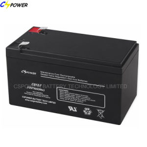 12V7ah Rechargeable/Sealed Lead Acid /VRLA/Storage/UPS Battery CS12-7D pictures & photos