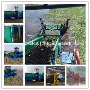 Mini Weed Harvester Vessel, Full Automatic Mini Aquatic Weed Harvester pictures & photos