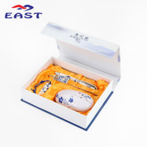 Chinese Style Electronic Business Prower Bank Gift Set pictures & photos