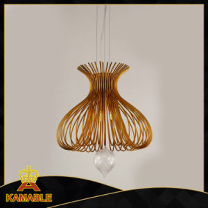 Restoration Decoration Steel Hanging Lighting (KM0143P-3) pictures & photos