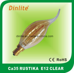 CA35-25W 40W (8anchors) Clear Rustika Bulb pictures & photos