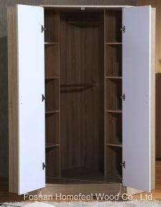 Wooden High Gloss Corner Wardrobe Closet pictures & photos