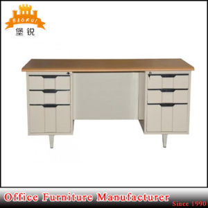 High Quality Modern Steel & Wood Office Table pictures & photos