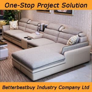 Four Seat Sofa with a Table pictures & photos