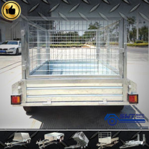 Light Duty Single Axle Trailer with Cage (SWT-BT6*4-L) pictures & photos
