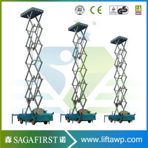 8m to 14m Electric Hyraulic Vehicle Mounted Scissor Elevator Platform pictures & photos
