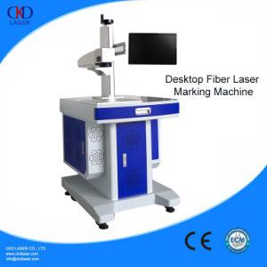 20W or 30W or 50W Desktop Fiber Laser Marking Machine pictures & photos