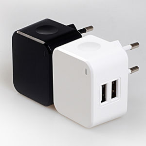 AC Power Adapter 5V 3.4A Travel EU Wall Charger pictures & photos