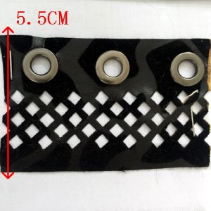 New Arrival Imitation Leather Trims with Eyelet pictures & photos