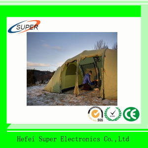 Waterproof Layer Automatic Outdoor 3-4 Person Camping Family Tent pictures & photos