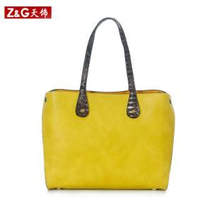 Fashion Handbag Leather Handbag (LDB-019) pictures & photos