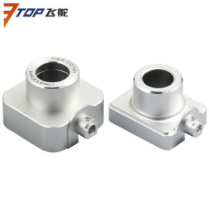 CNC Machining Aluminum Alloy Robotic Parts with High Light Treatment