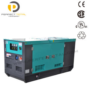 32kw Soundproof Silent Diesel Power Generator Sets with Isuzu Engine