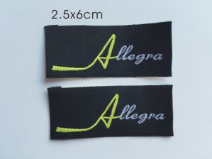 High Definition Woven Brand Label