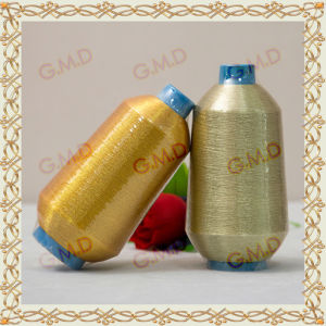 St Type Fluorescent Golden Metallic Yarn