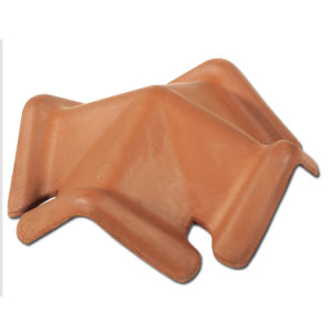 Building Material Dark Grey Tiles Price Ceramic Roof Tile (F1-W57) pictures & photos